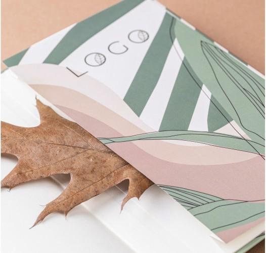 Koperta papierowa z nadrukiem
